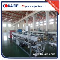 China Plastic pipe extruding machine for PPR/PPRC water pipe KAIDE wholesale