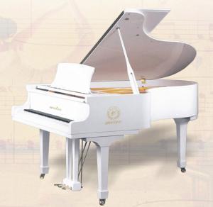 China 170cm 88 Key White Polished Acoustic Grand Piano 182x55x172cm AG-GP170W wholesale