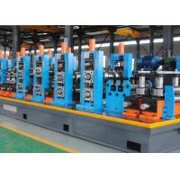 China Durable High Frequency Welded Stainless Steel Pipe Mill , Pipe Making Machine wholesale