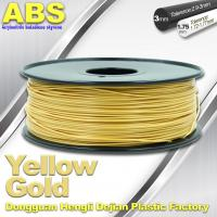 China Soft Colorful 1.75mm /  3.0mm 3D Printing ABS Filament  Material For 3D Printers wholesale
