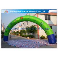 China Promotion Semicircle Inflatable Start Finish Arch 9m Span Customized Size wholesale