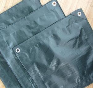 China 200gsm olive green finished pe tarpaulin sheet wholesale