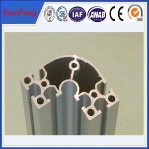 China electrophoretic aluminum profile manufacturer OEM aluminium t-slot extrusion profiles wholesale