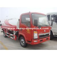 China Light Duty 10CBM  Water Tank Truck Sinotruk With Left Hand Driving Steering wholesale