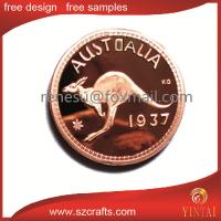 China hot sale of Australia coin, mirror copper  coin wholesale