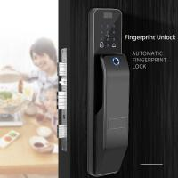 China All - LCD Intelligent Fingerprint Code Lock With 4 Piece AA+ Battery wholesale