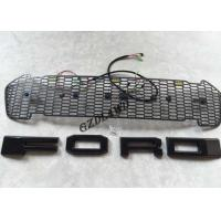 China Car Front Bumper Grille With LED Lights For Ford Ranger 2016 2017 Body Parts wholesale