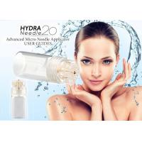 China Gold Titanium 24K Hydra Needles 20 Fine Touch System Aqua Micro Channel Mesotherapy wholesale