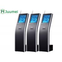 China 17 Inch Wireless Queue Ticket Dispenser Machine Commercial Digital For Bank on sale