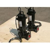 Buy cheap Submersible Vortex Vertical Sewage Pump Low Pressure IP68 Motor Protection product