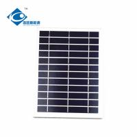 China 5W 6V Poly portable solar panel photovoltaic ZW-5W-6V home solar energy systems for emergency power supply wholesale
