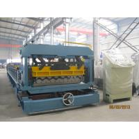 China PLC Converter Roof Tile Roll Forming Machine For Factory Hotel Roof wholesale