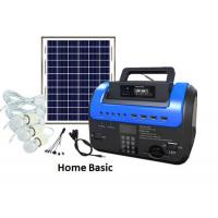 China Home Lighting Home Solar Energy System Multifunctional With USB Optupt on sale