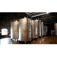 China 4000l Beer Fermentation Tanks For Wine / Fruit Wine Making 3 Years Warranty wholesale