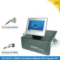 China Body Weight Cavitation RF Slimming Machine With Touch Screen 220V 50Hz RF+2 wholesale