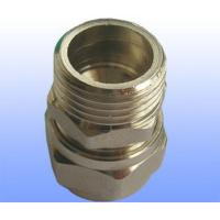 China compression brass fitting male straight for PEX-AL-PEX wholesale