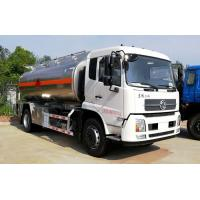 China 15 Tons Water Bowser Truck 15000 Liters Stainless Steel / Aluminum Alloy Tankers wholesale