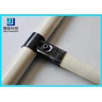 China Adjustable Metal Joint for Pipe Rack , Thickness 23mm  T-Type Black Tubing Joint HJ-1 wholesale