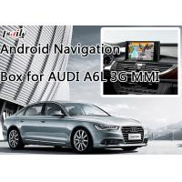 Buy cheap Car Android Navigation Box for AUDI A6L 3G MMI with WIFI BT Mirror Link HD 1080P product