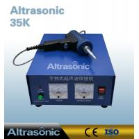 China Ultrasonic Spot Welding 35Khz 800W For PCB Parts Gun Type Handheld With Titanium Horn wholesale