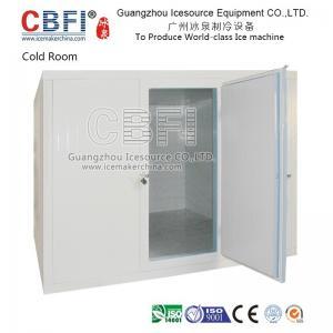China Energy Saving Walk In Blast Freezer , Industrial Blast Freezer For Fruit / Dairy / Drink wholesale
