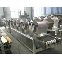 Active Demand Electric Instant Noodle Production Line Stainless Steel Material