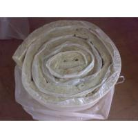Quality Flexible Rockwool Insulation Blanket Faced With Glass Cloth for sale