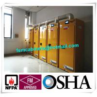Flammable Safety Storage Cabinet With Filter System, Temperature Control Safety Storage Cabinet