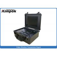 Buy cheap Suitcase Portable Ground Station 17'' LCD Screen Wireless COFDM Video Receiver product
