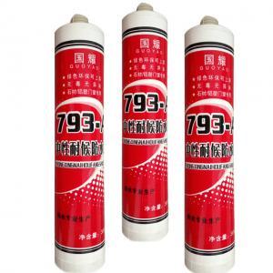 China White Good adhesive anti-fungus UV resistent non-toxic silicone sealant wholesale