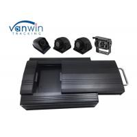 Buy cheap 4G 4 Channel GPS Video Recorder with 2 Tera HDD Storage 4 Cameras RS232 MDVR from wholesalers