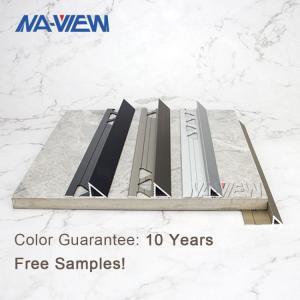 China Custom Length Aluminium Flooring Profile Schluter Tile Trim wholesale