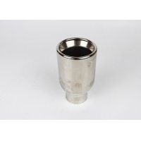 China 304 Stainless Steel 2.75 Inch Truck Muffler Tips wholesale