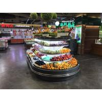 China Supermarket Commercial Open Display Chiller For Fruit Beverage Vegetable wholesale
