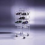 China Clear Acrylic Wine Display   wholesale