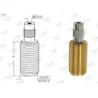China All Threaded Adjustable Cable Grippers Raw Brass Material With  Security Head wholesale