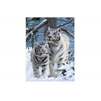 China Vivid Tiger Image 3d Lenticular Image For Home 0.76mm Thickness 3d Animal Pictures wholesale