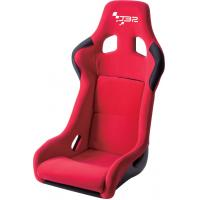 China JBR1066 Red Fabric Sport Racing Seats With Adjuster / Slider Car Seats wholesale