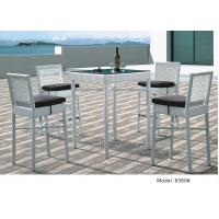 China 5pcs wicker rattan outdoor furniture  high back bar chair table -8360 wholesale