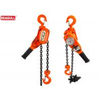 China 3 / 4 Ton Lever Chain Construction Hoist With Durable Powder Coat Finish wholesale