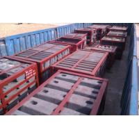China Steel Large Mine Mill Liners High Abrasion Performance Hardness HRC33-43 Coal Mill wholesale