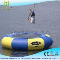 China Hansel top sale inflatable boat outdoor amusement equipment wholesale