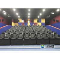 China Exciting Simulating Luxury Cabin Box 5D Cinema System With Fiber Glass Material wholesale