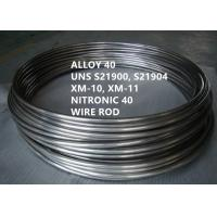 China UNS S21900 Corrosion Resistant Alloys Versatile Austenitic Stainless Steel on sale