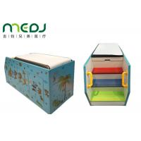 Quality Immunizations Paediatric Examination Table Cartoon Pattern With Diposable Paper for sale