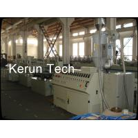 China High Capacity PVC WPC Profile Extrusion Line High Precision For Wall Siding Panel wholesale