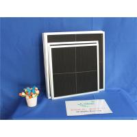 Quality Black Nylon Metal Mesh Pre Filter High Temperature Resistance For Air Condition Parts for sale