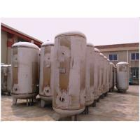 China Stainless Steel Diaphragm Pressure Air Receiver Tank Vertical Orientation wholesale