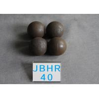 China High Hardness 62-63HRC Grinding Medium Steel Balls for Ball Mill , Grinding Balls for Ball Milling wholesale