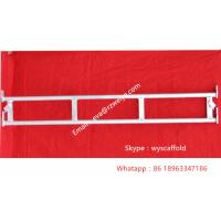 China SGS Universal  Haki scaffolding ledger beam / double scaffolding ladder beams wholesale